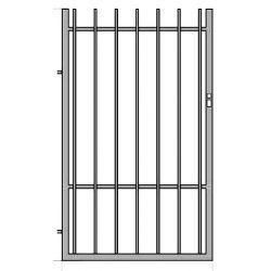 Iza1  egyszárnyú kapu