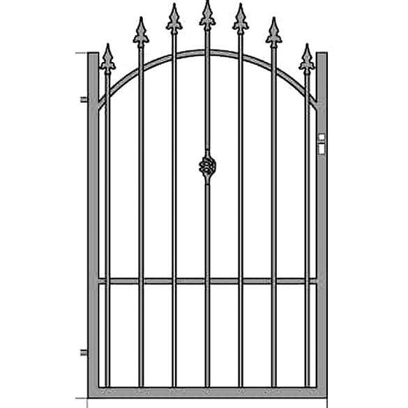 Zuzia3  egyszárnyú kapu