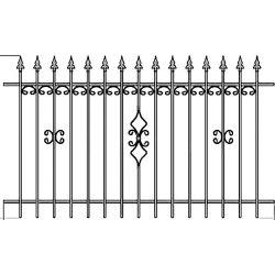 OLA 22  kerítés elem
