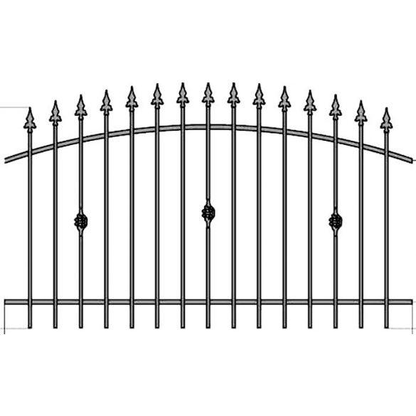 Zuzia 3 kerítés elem