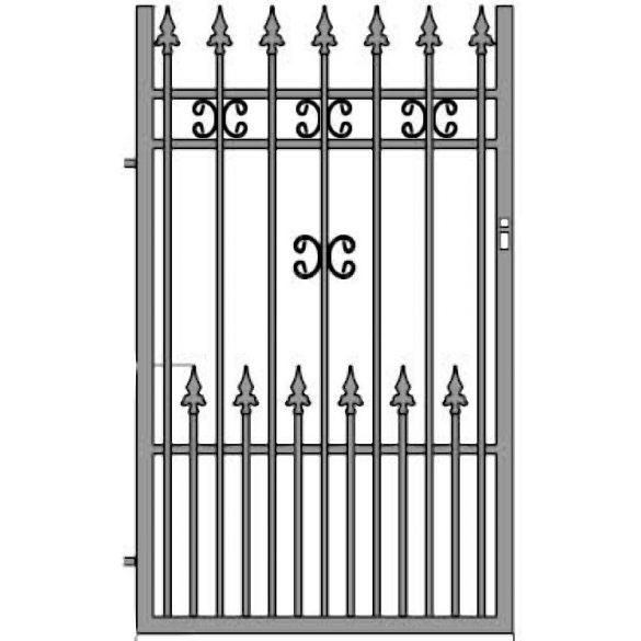 Eliza 11+ egyszárnyú kapu
