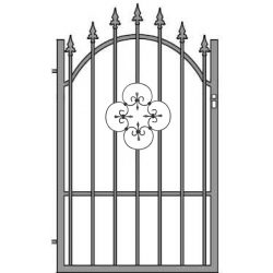 Ania4 egyszárnyú kapu