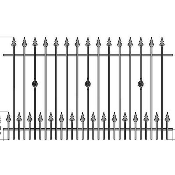 OLA 3+  kerítés köz