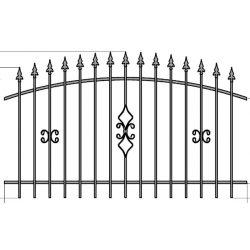 Zuzia 2 kerítés elem