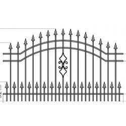 Natalia2+  kerítés betét