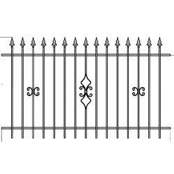 OLA 2  kerítés betét