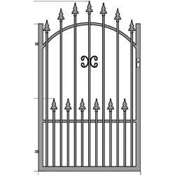 Zuzia1+  egyszárnyú kapu