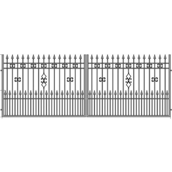 Eliza22+ kétszárnyú kapu