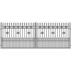 Eliza11+ kétszárnyú kapu