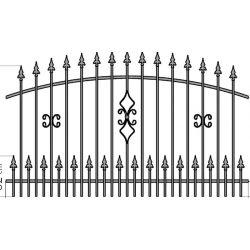 Zuzia2+ kerítés köz