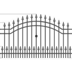 Natalia3+  kerítés betét