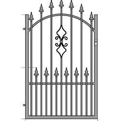 Zuzia2+  egyszárnyú kapu