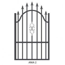 Ania2 egyszárnyú kapu
