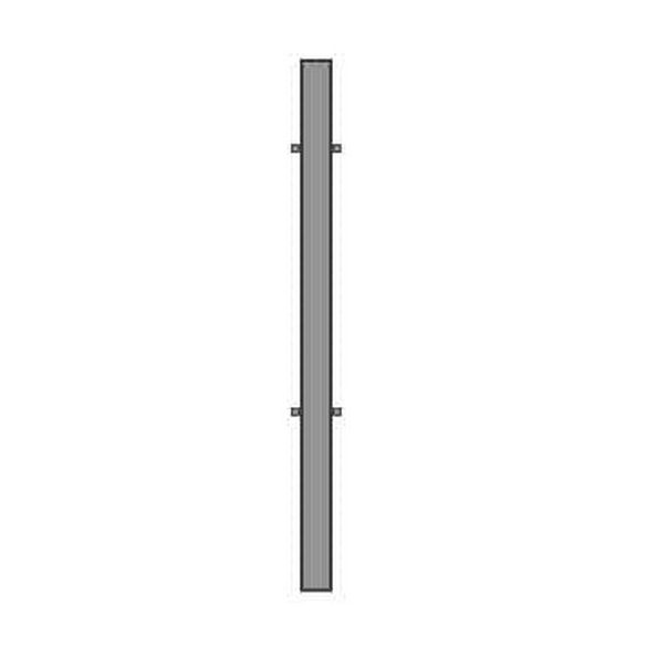 Zártszelvény vas oszlop kapuhoz