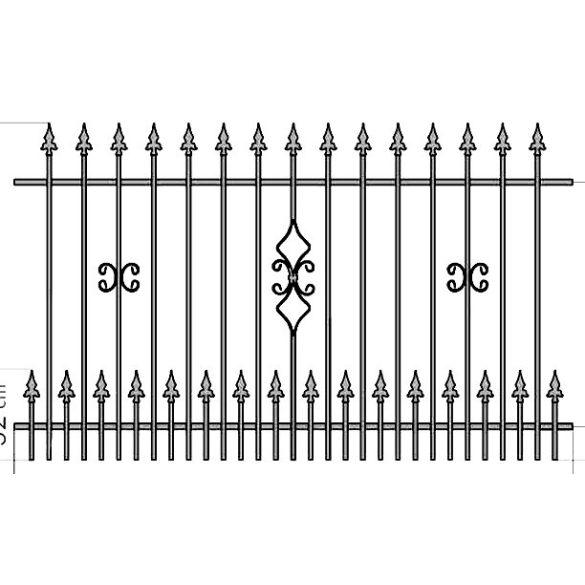 OLA 2+  kerítés köz