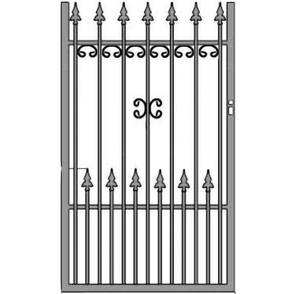 Ola 11+ egyszárnyú kapu