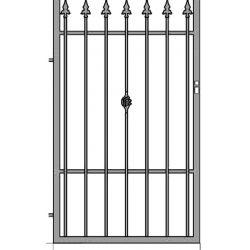 Ola 3 egyszárnyú kapu