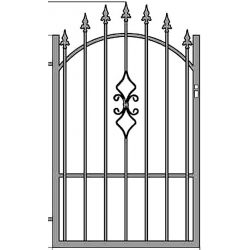 Zuzia2 egyszárnyú kapu