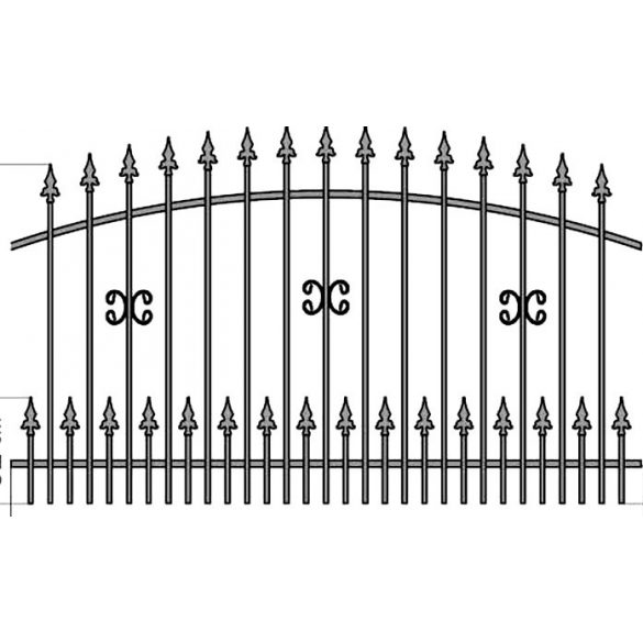 Zuzia1+ kerítés köz
