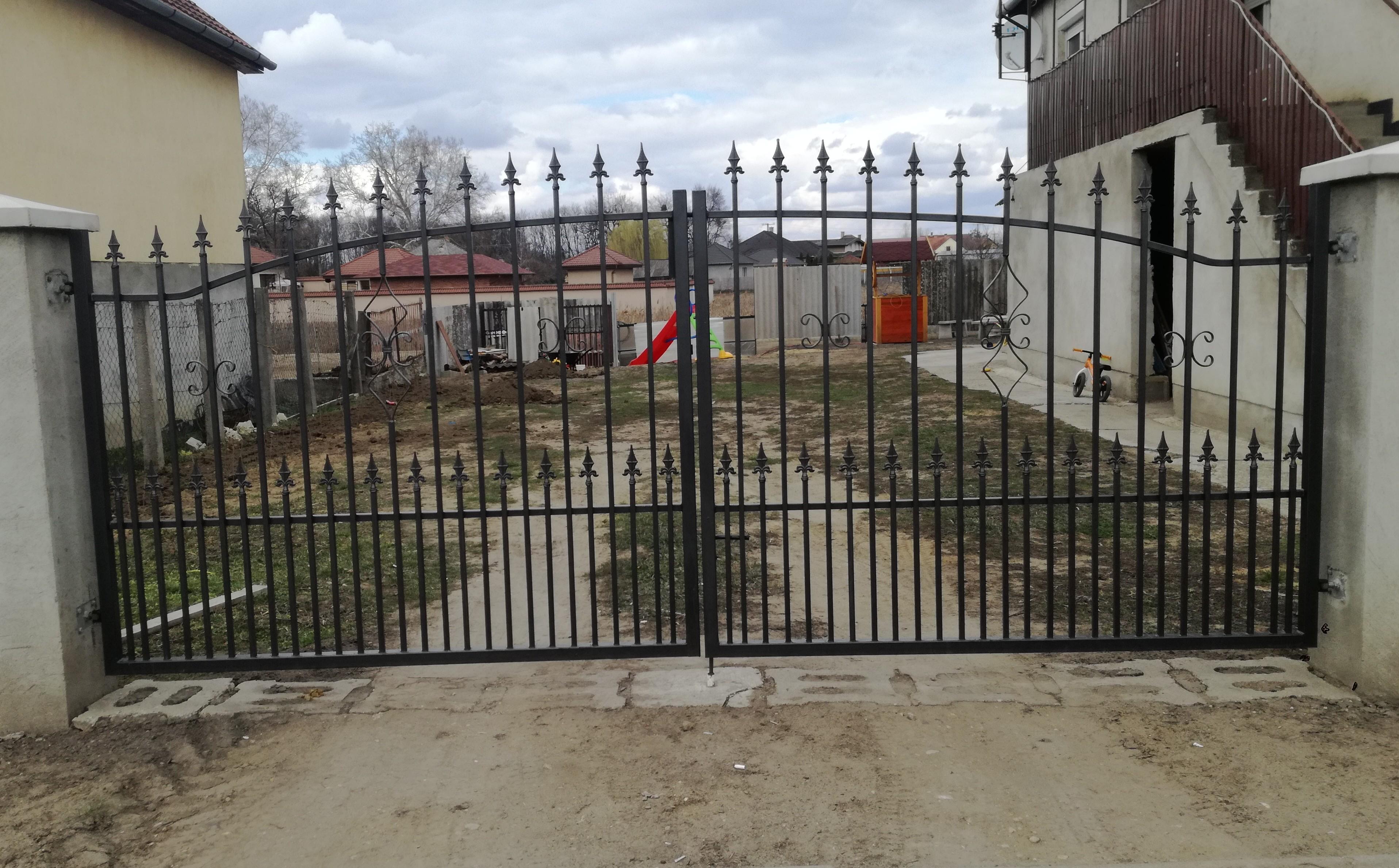 Kovácsoltvas kapu, kerítés ár, forgalmazás Szabolcs-Szatmár megye,Nyíregyháza