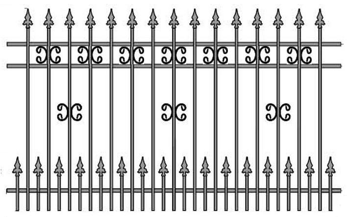 Kovácsoltvas kapu, kerítés árak, gyártás Győr