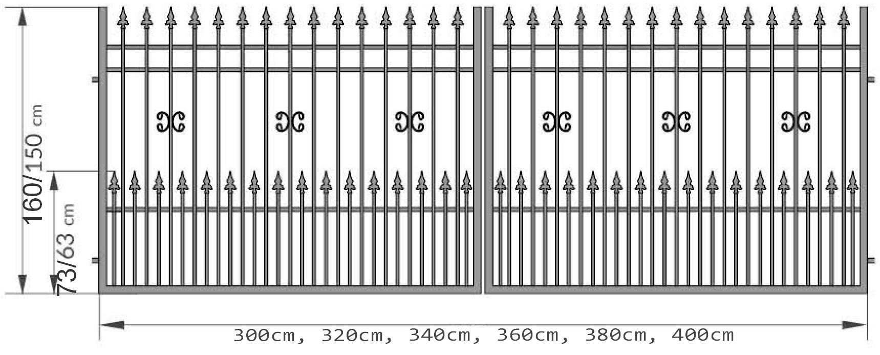 Kovácsoltvas kapu,kerítés gyártás,árak Hajdú-bihar, Debrecen