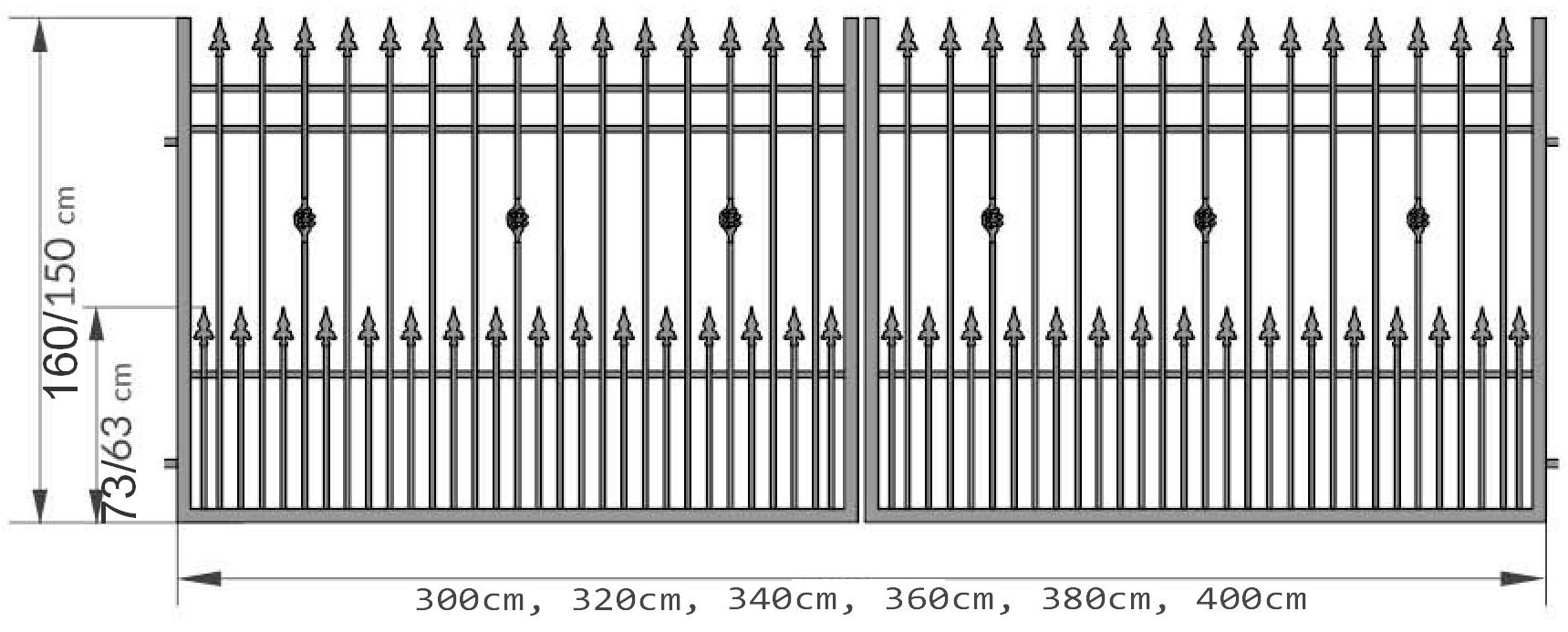 Kovácsoltvas kapu,kerítés gyártás,árak Szabolcs-szatmár, Nyíregyháza