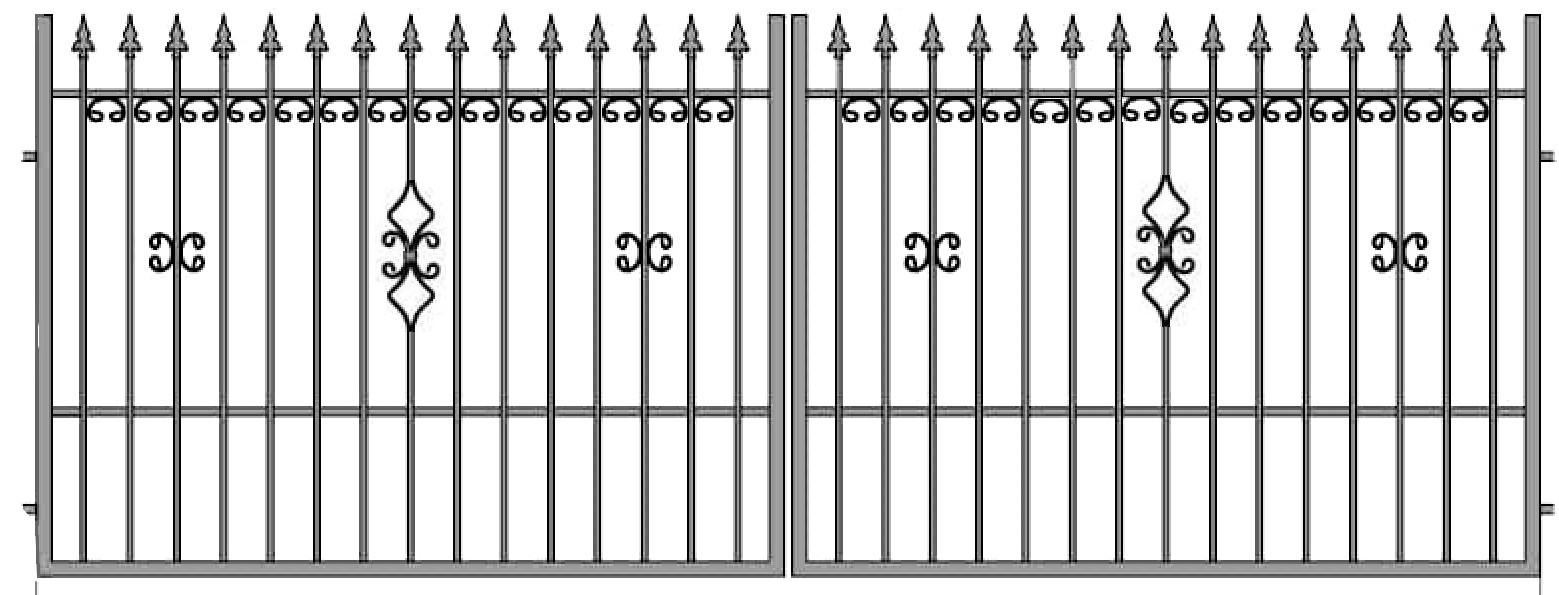 Kovácsoltvas kapu, kerítés árak , gyártás Debrecen