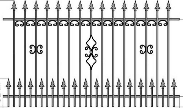 Kovácsoltvas kapu, kerítés árak , gyártás Nyíregyháza