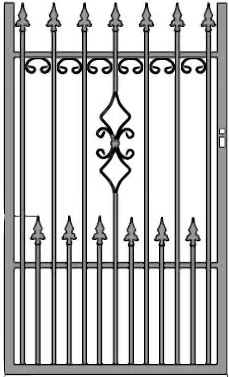 Kovácsoltvas kapu, kerítés árak , gyártás Kecskemét