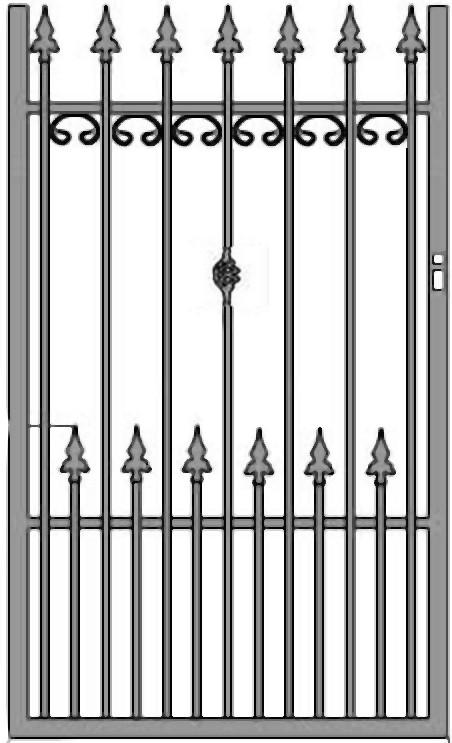Kovácsoltvas kapu, kerítés árak , gyártás Budapest