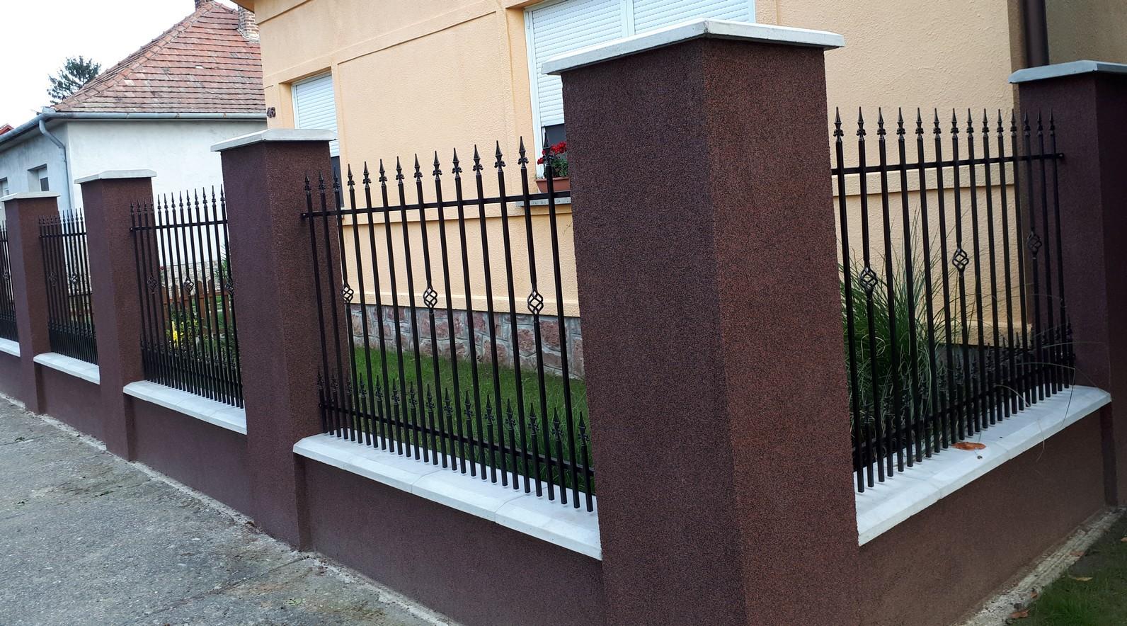 kovácsoltvas kapu kerítés árak Budapest, Pest megye