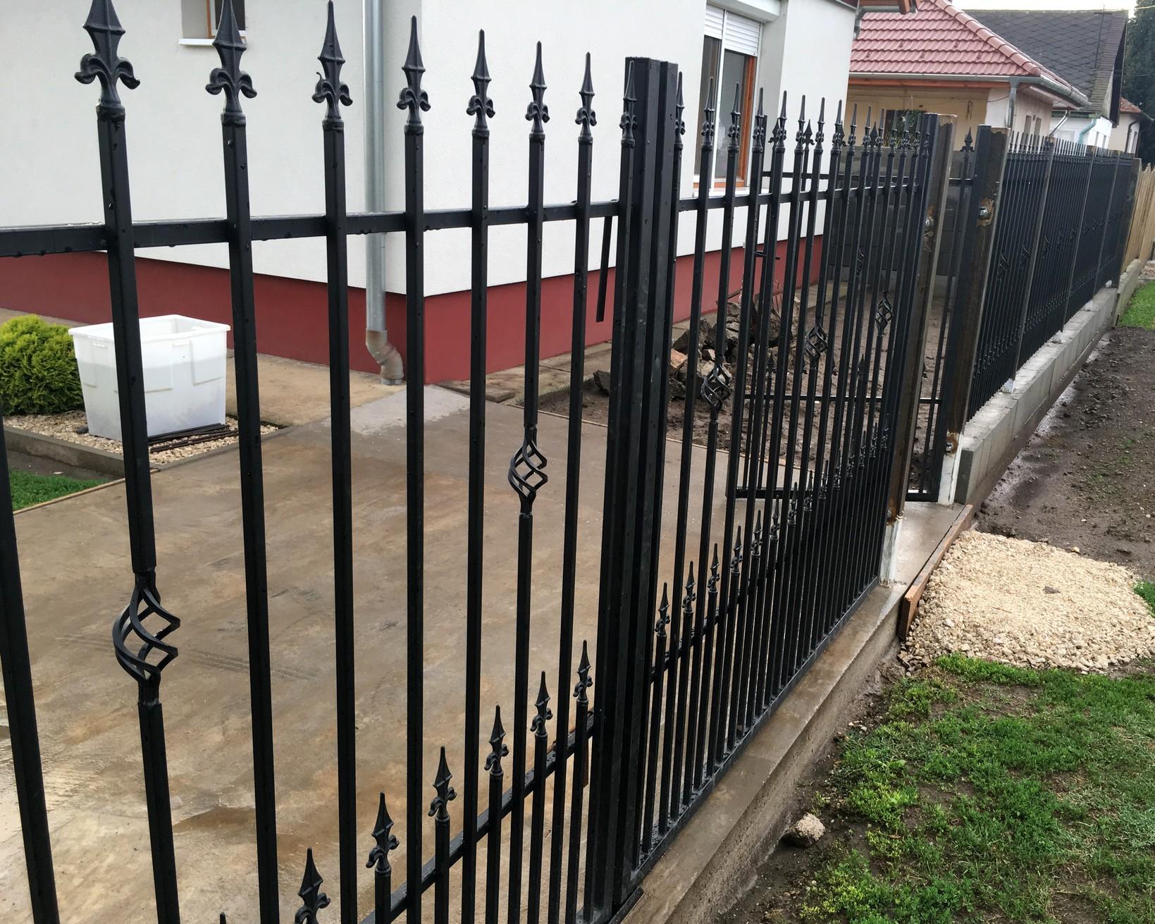 kovácsoltvas kapu kerítés árak