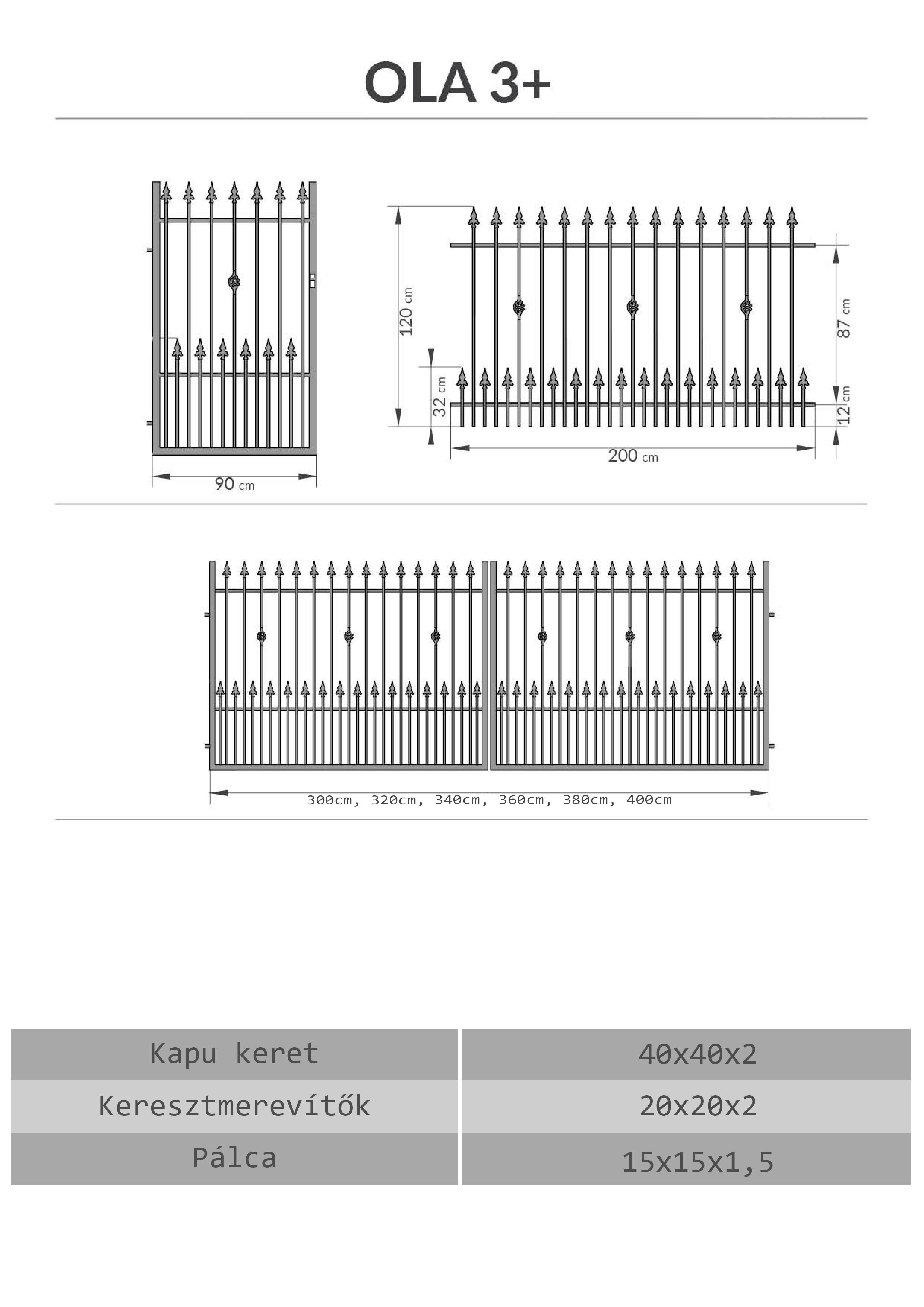 Kovácsoltvas kapu, kerítés árak, Budapest Pest megye
