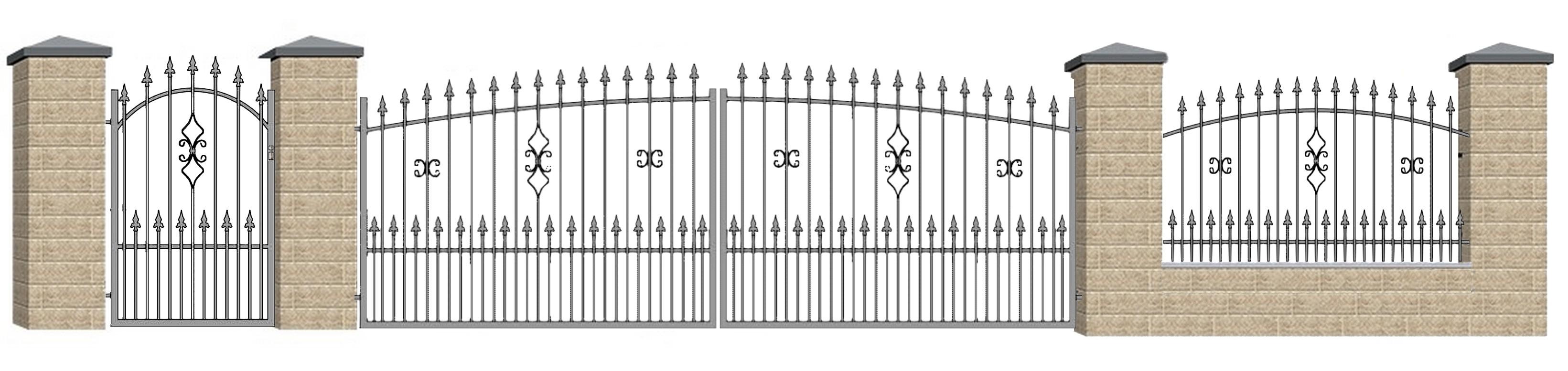 Kovácsoltvas kapu, kerítés ár, forgalmazás Bács-Kiskun megye,Kecskemét