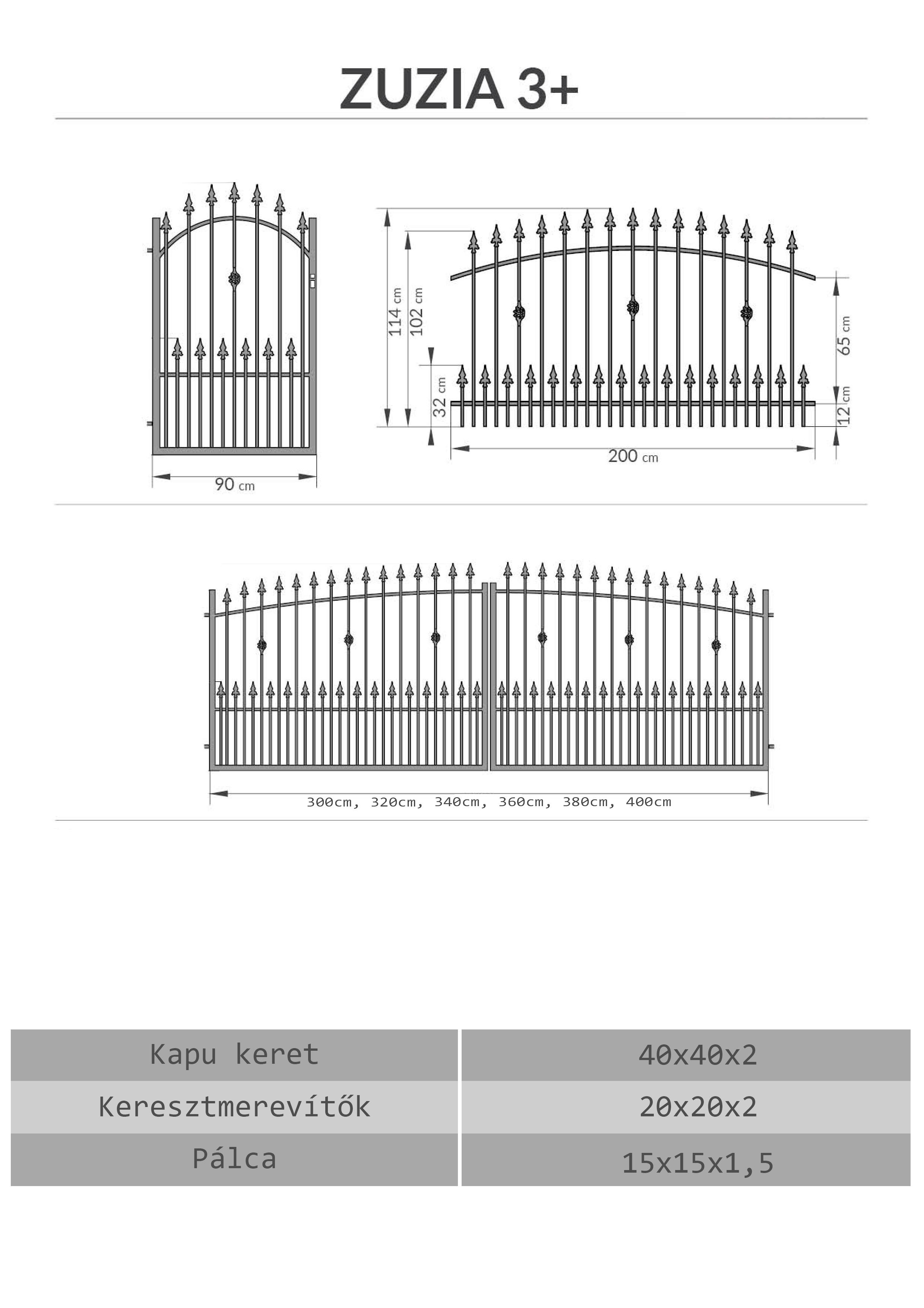 Vas kerítés, kapu árak Debrecen, Hajdú-bihar megye