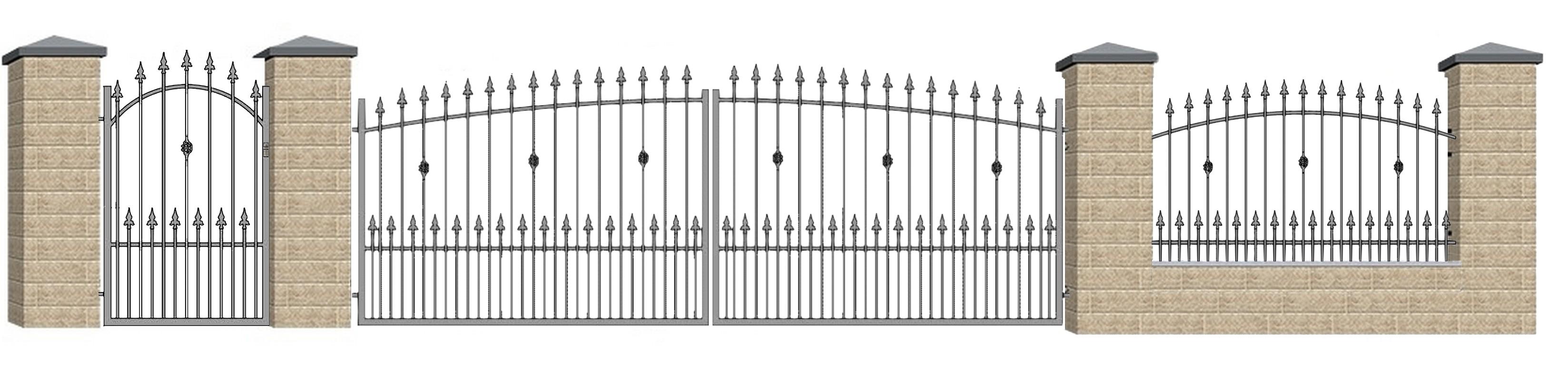 Kovácsoltvas kapu, kerítés ár, forgalmazás Vas  megye,Szombathely
